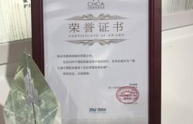 """亚派科技荣获""""第七届中国医院建设十佳运营服务供应商""""奖并做主题发言"""
